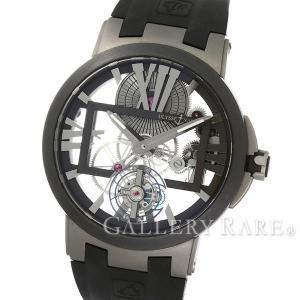 ユリスナルダン エグゼクティブスケルトン トゥールビヨン 1713-139 ULYSSE NARDIN 腕時計|gallery-rare