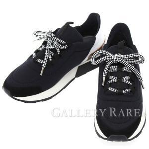 エルメス スニーカー マイルス Miles レディースサイズ36 1/2 黒 HERMES 靴|gallery-rare