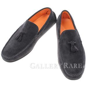 エルメス シューズ レオナルド Leonard モカシン メンズサイズ42 HERMES 靴 メンズ ドライビングシューズ スリッポン|gallery-rare