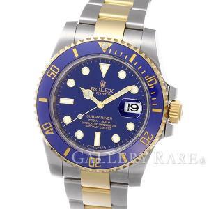ロレックス サブマリーナ デイト コンビ SS×K18YGイエローゴールド ランダムシリアル ルーレット 116613LB ROLEX 腕時計 gallery-rare