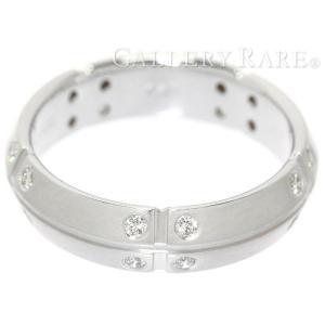 ティファニー リング ストリーメリカ ダイヤモンド K18WGホワイトゴールド リングサイズ約10.5号 Tiffany&Co. ジュエリー 指輪 ダイアモンド gallery-rare