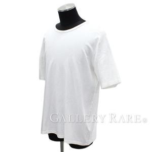 ルイヴィトン カットソー コットン Tシャツ メンズサイズXXL LOUIS VUITTON ヴィトン メンズ 服 半袖 クルーネック バックロゴ プリント 異素材切り替え|gallery-rare