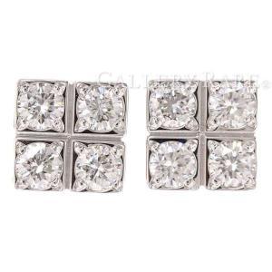 カルティエ ピアス パイエット ダイヤモンド K18WGホワイトゴールド Cartier ジュエリー ダイアモンド|gallery-rare