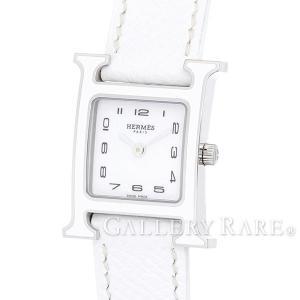 エルメス Hウォッチ レザーストラップ エプソン A刻印 HH1.220 HERMES 腕時計 レディース|gallery-rare