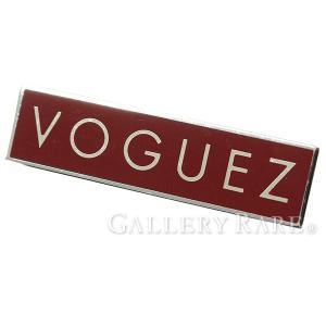 ルイヴィトン ピンバッジ LV バッジ BADGE VOGUEZ レッド M00060 LOUIS VUITTON ヴィトン|gallery-rare