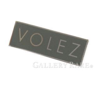 ルイヴィトン ピンバッジ LV バッジ BADGE VOLEZ グレー M00059 LOUIS VUITTON ヴィトン ブローチ|gallery-rare