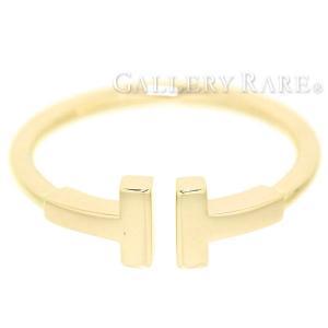 ティファニー リング Tワイヤー K18YGイエローゴールド リングサイズ約9号 TIFFANY ジュエリー 指輪 Tコレクション|gallery-rare