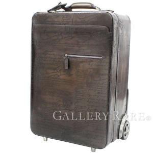 ベルルッティ キャリーケース トローリー カリグラフィ ヴェネチアカーフレザー FORMULA 1000 Berluti 旅行用 スーツケース 生産中止 廃盤