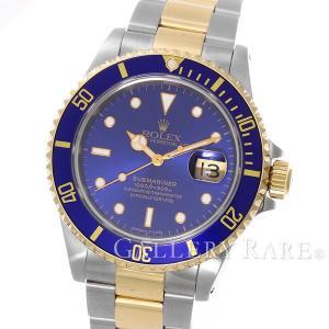 ロレックス サブマリーナ デイト コンビ SS×K18YGイエローゴールド T番 16613 ROLEX 腕時計|gallery-rare