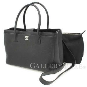 シャネル トートバッグ ココマーク エグゼクティブライン ハンドバッグ A15206 CHANEL バッグ 黒|gallery-rare