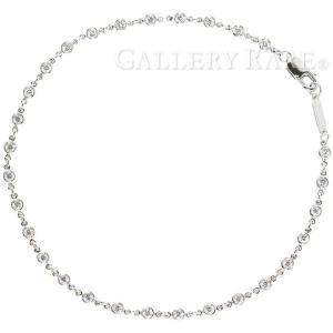 ティファニー ブレスレット バイザヤード ダイヤモンド 29P 計約1.0ct プラチナ950 Pt950 Tiffany&Co. ジュエリー|gallery-rare