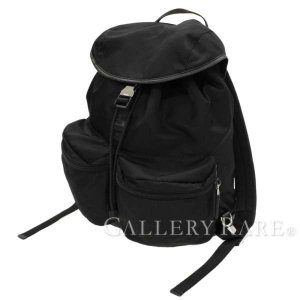 プラダ リュック バックパック ナイロン サフィアーノ V164 PRADA リュックサック 三角ロゴ|gallery-rare