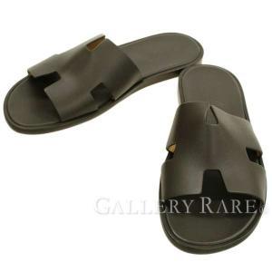 エルメス サンダル イズミール Izmir メンズサイズ42 HERMES 靴 Hロゴ|gallery-rare