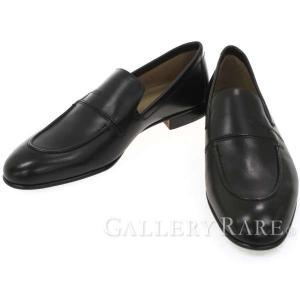 エルメス ローファー プラザ Plaza モカシン カーフ Hロゴ HERMES 靴 メンズサイズ41 1/2 スリッポン ビジネスシューズ|gallery-rare