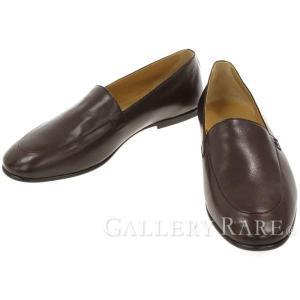 エルメス ローファー Primo プリモ カーフ スリッポン メンズサイズ42A HERMES 靴 メンズ ビジネスシューズ モカシン gallery-rare