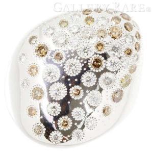 デビアス リング オーガニックリング ダイヤモンド 計1.71ct K18WG サイズ約10.5号 DE BEERS ジュエリー 指輪|gallery-rare