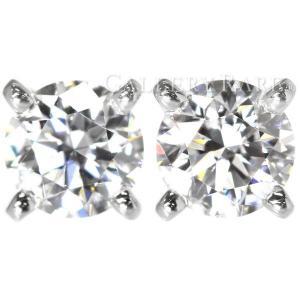 カルティエ ピアス 1895 イヤリング ダイヤモンド 計0.52ct プラチナ950 Pt950 N8023500 Cartier ジュエリー ダイヤモンド|gallery-rare