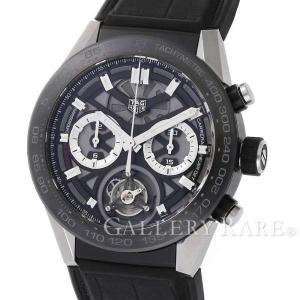 タグホイヤー カレラ ホイヤー02T フライングトゥールビヨン CAR5A8Y.FC6377 TAG HEUER 腕時計...