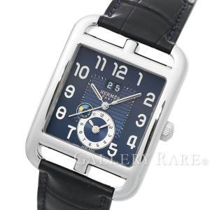 エルメス ケープコッド GMT SS 青文字盤 CD6.910 HERMES 腕時計|gallery-rare