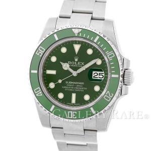 ロレックス サブマリーナ グリーン デイト ランダムシリアル ルーレット 116610LV ROLEX 腕時計 gallery-rare