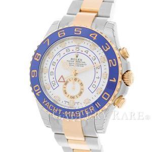 ロレックス ヨットマスター2 ルーレット ランダムシリアル 116681 ROLEX 腕時計|gallery-rare
