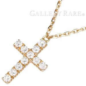 カルティエ ネックレス クロス モチーフ ダイヤモンド K18PGピンクゴールド B7221800 Cartier ジュエリー gallery-rare
