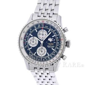 ブライトリング ナビタイマー オリンパス ムーンフェイズ ブルー SS A190B52NP BREITLING 腕時計|gallery-rare