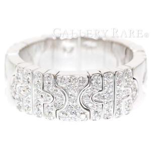 ブルガリ リング パレンテシ ダイヤモンド K18WGホワイトゴールド リングサイズ約16号 BVLGARI ジュエリー 指輪 PARENTESI gallery-rare