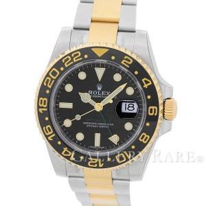 ロレックス GMTマスター 2 ランダムシリアル ルーレット SS×K18YGイエローゴールド 116713LN ROLEX 腕時計|gallery-rare