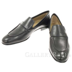 エルメス ローファー プラザ Plaza モカシン カーフ Hロゴ HERMES 靴 メンズサイズ42 スリッポン ビジネスシューズ gallery-rare