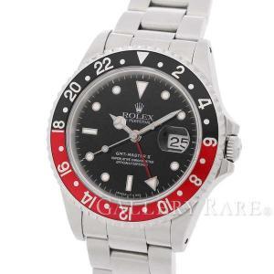 ロレックス GMTマスター 2 デイト 赤黒ベゼル W番 16710 ROLEX 腕時計|gallery-rare