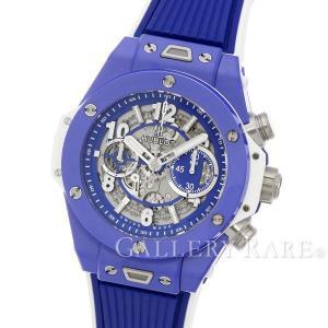 ウブロ ビッグバン ウニコ クロノグラフ ブルーセラミック 411.EX.5129.RX HUBLOT 腕時計...
