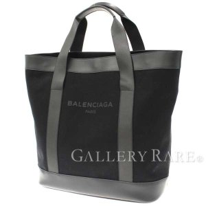 バレンシアガ トートバッグ ネイビー NAVY 374767 BALENCIAGA バッグ キャンバス メンズ|gallery-rare