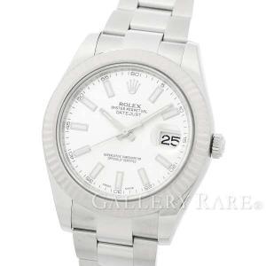 ロレックス デイトジャストII ランダムシリアル ルーレット 116334 ROLEX 腕時計...