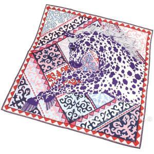 エルメス スカーフ カレ90 ステップのアパルーサ Appaloosa des Steppes シルクツイル HERMES シルクスカーフ|gallery-rare