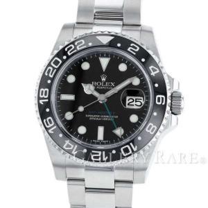 ロレックス GMTマスター 2 デイト 黒ベゼル V番 ルーレット 116710LN ROLEX 腕時計 ウォッチ スティックダイヤル|gallery-rare