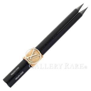 ルイヴィトン 鉛筆 クレヨン・アンリ GI0140 LOUIS VUITTON ヴィトン 文房具 ペンシル 2本セット|gallery-rare
