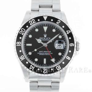 ロレックス GMTマスター 黒ベゼル A番 16700 ROLEX 時計...