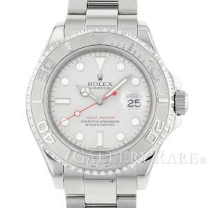 ロレックス ヨットマスター ロレジウム SS×プラチナ M番 ルーレット 16622 ROLEX 腕時計|gallery-rare