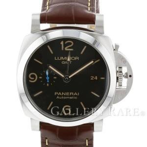 パネライ ルミノール 1950 3デイズ GMT オートマティック アッチャイオ T番 PAM01320 PANERAI 腕時計 ウォッチ|gallery-rare