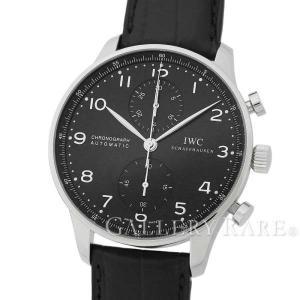 IWC ポルトギーゼ クロノグラフ IW371447 腕時計...