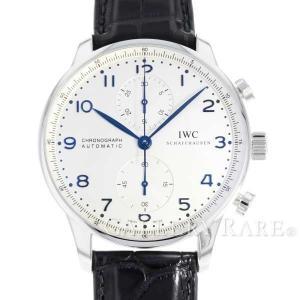 IWC ポルトギーゼ クロノグラフ IW371446 腕時計...