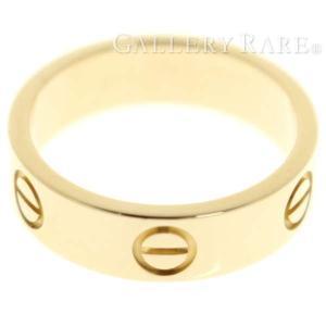 カルティエ リング ラブリング K18YGイエローゴールド リングサイズ54 B4084600 B4084654 Cartier 指輪 ジュエリー|gallery-rare