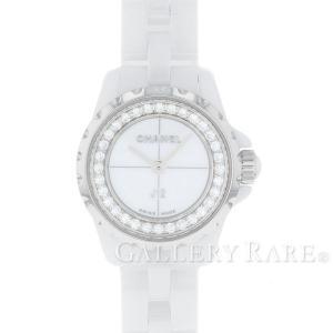 47f6116cb5 シャネル J12 XS 19mm ホワイトセラミック ダイヤモンド 0.27ct H5237 CHANEL 腕時計 ベゼルダイヤ レディース