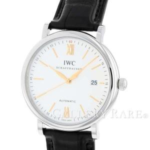 IWC ポートフィノ オートマティック シルバー文字盤 IW356517 腕時計 アイ・ダブリュー・...
