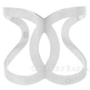 シャネル ブレスレット ココマーク オープン バングル A96052 B17V CHANEL アクセサリー  CC ロゴ gallery-rare
