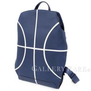 エルメス リュックサック シティバック27 バスケットボール バックパック ブルードマルト エバーカラー C刻印 メンズ