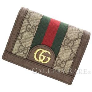 b294d4307f83 グッチ 財布 GGスプリーム オフィディア ウェブ 523155 GUCCI 財布 二つ折り財布 カードケース