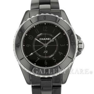 シャネル J12 ファントム クォーツ ブラック セラミック H6346 CHANEL 腕時計 ウォ...
