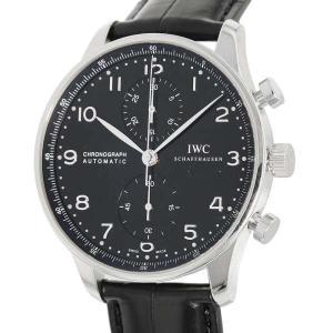 IWC ポルトギーゼ クロノグラフ IW371447 腕時計 ウォッチ 黒文字盤 安心保証